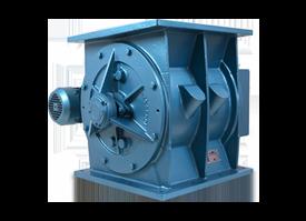 Rotary valves and airlocks