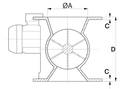 Dust Collector Valve Technical Drawing South Africa
